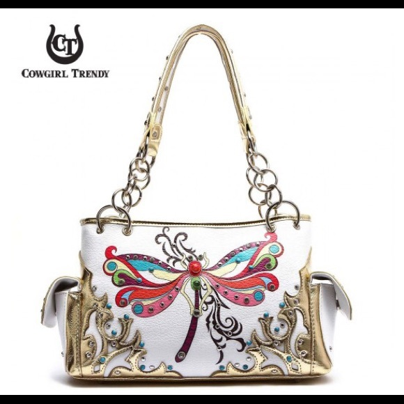 Blue Heaven Bags | 2 Day Sale Dragonfly White